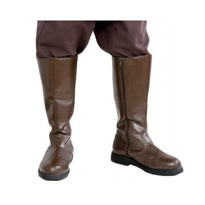 Star Wars Jedi Boots Brown for your Obi Wan Anakin Mace Windu Costume - from USA