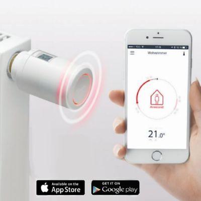 Danfoss Eco Programmierbarer Heizkörperthermostat Bluetooth 014G1001