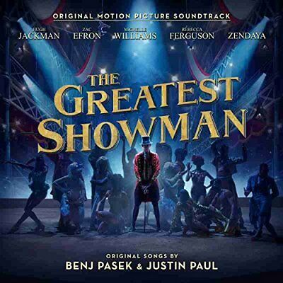 The Greatest Showman Soundtrack  New   Sealed Cd