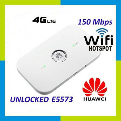 UNLOCKED HUAWEI E5573Cs-609 4G LTE 150Mbps Mobile Broadband Devices WiFi ROUTER