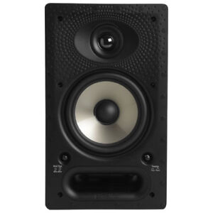 Polk Audio 65RT 125W 6.5-Inch In-Wall Two Way Speaker - Pair