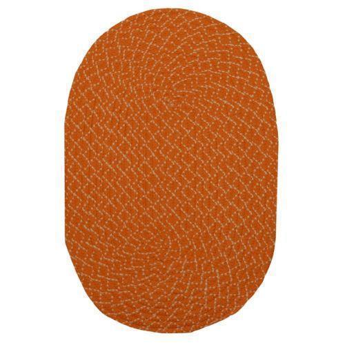 Round Orange Rug Ebay