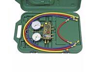 Manifold Refco 4-way m4 javac also have leak detector refrigerant refrigerator