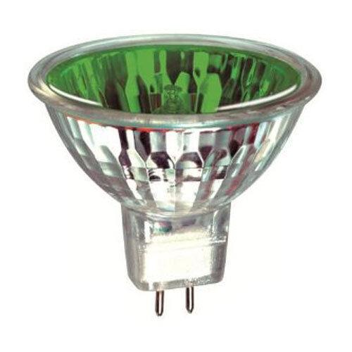 Mr16 Halogen Light Bulb: 12v Coloured MR16 Low Voltage 50w Halogen Light Bulbs RED