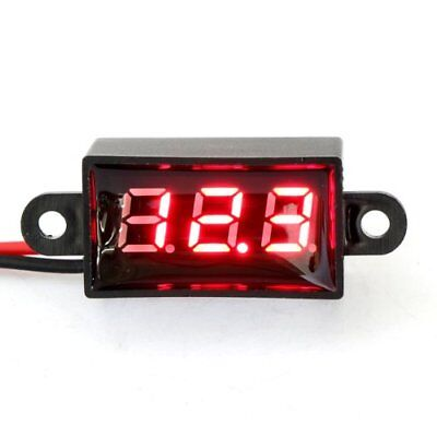 Drok Micro Voltmeter Digital Voltage Panel Meter Dc 12v 0.28 2-wires Volt Mo...