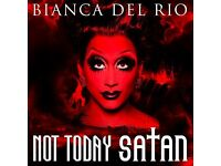 Bianca Del Rio live Not Today Satan Tour 2 tickets on Sat. 18/02 Sold out