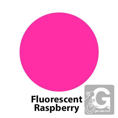 2 Feet 24x15 Siser Easyweed Fluorescent Heat Transfer Vinyl- Colorraspberry