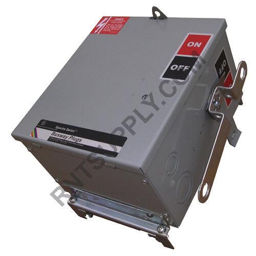 General Electric Sl321rg Bus Plug 30a 240vac 3p3w Fusible Spectra Low-amp Sl