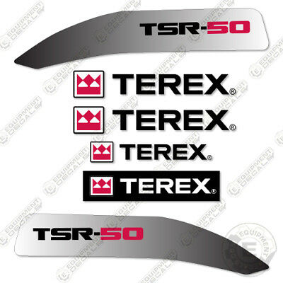 Terex Tsr 50 Decal Kit Skid Steer Sticker Replacements