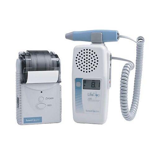 Summit Doppler L250AC LifeDop 250 ABI System w/ 4 Cuffs & Aneroid & Printer