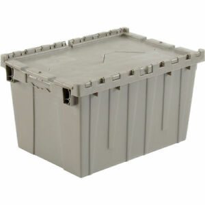 PLASTIC STORAGE TOTES / CONTAINERS WITH LID