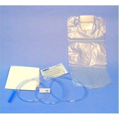 50 Disposable Enema Bag Set w/ Castile Soap & pad each sealed packs 1500ml one c