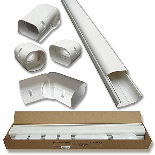 """Hide-A-Line 4"""" 14 Ft Mini split and Central Air Conditioner"""