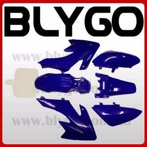 BLUE Plastics Guard Fairing Fender Kit CRF50 110cc 125cc PIT PRO Braeside Kingston Area Preview