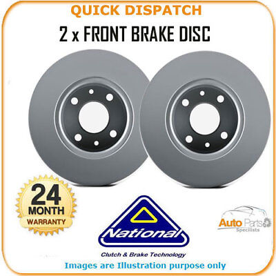 2 X FRONT BRAKE DISCS  FOR LADA NIVA NBD251