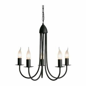 NEW Ikea Molnig Chandelier Black