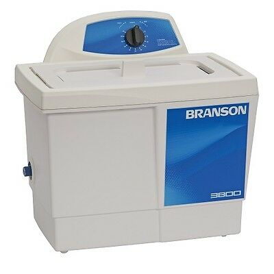 Branson M3800 1.5 Gallon Ultrasonic Cleaner W Mechanical Timer Cpx-952-316r