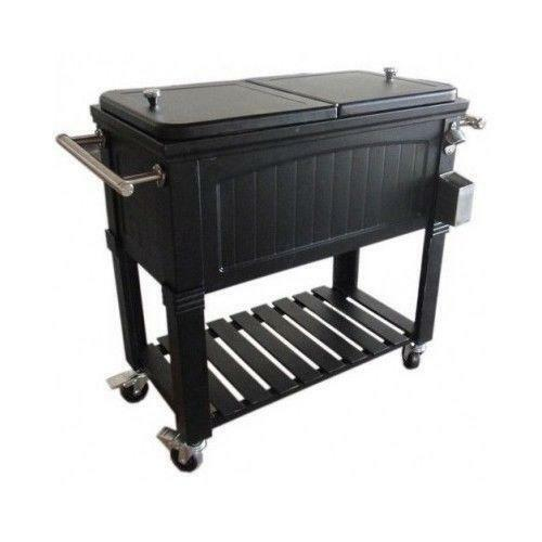 rolling patio cooler ebay