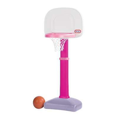 Little Tikes TotSports Easy Score Basketball Set Pink Toddler Sized Hoop NEW](Toddler Basketball Hoop)