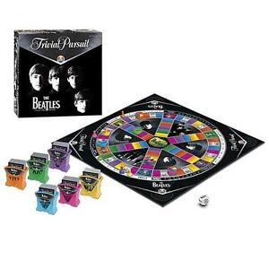 Trivial Pursuit Board Game-The Beatles Collectors Edition