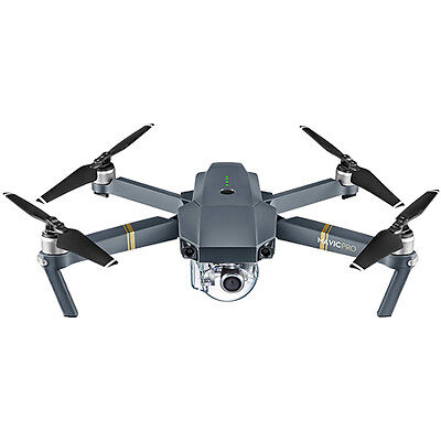 DJI Mavic Pro Quadcopter Drone with 4K Gimbal-Stabilized 12MP Camera