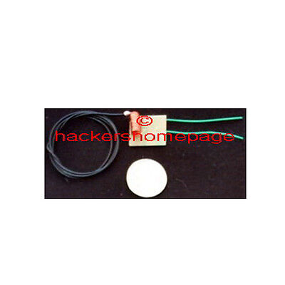 World's Smallest FM VHF Mini Micro Phone Bug Telephone Tap Spy Transmitter Kit