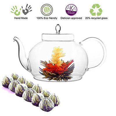 Tea Beyond Tea Gift Blooming Flower Tea Gift Set 45 Oz / 133