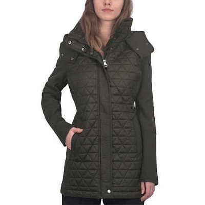 Marc New York Quilted Jacket - NEW Marc New York Andrew Marc Ladies' Quilted Hooded Jacket S Small Olive
