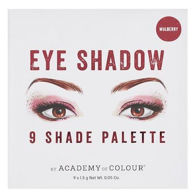 Academy Of Colour 9 shade eyeshadow palette- (Academy Colour)