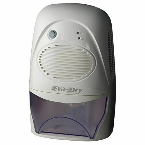 Eva-Dry Edv-2200 Powerful Electric Mid-Size Dehumidifier, Up