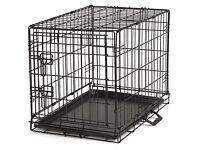 Medium front door dog crate