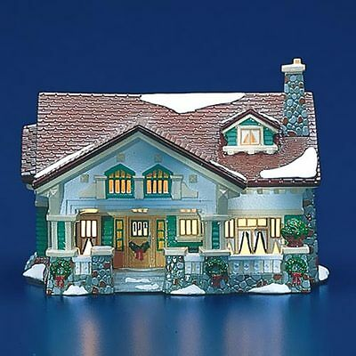 Dept 56 Snow Village ~ Craftsman Cottage ~ Mint In Box 54372