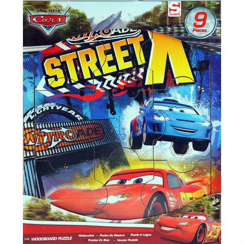 Puzzle en bois CARS