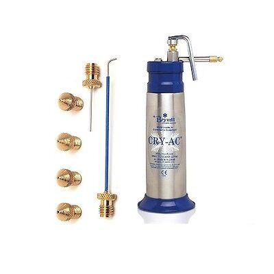 New Brymill Cry-ac 16oz Liquid Nitrogen Sprayer B700 With Tips