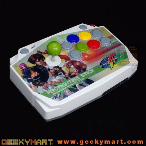 WIRELESS PRO-FIGHTING ARCADE JOYSTICK DESIGN FOR PC / PS2 / PS3 & XBOX 360