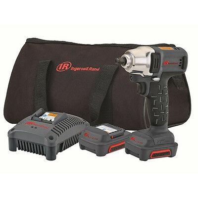 Ingersoll Rand 12V 3/8 in. Cordless Li-Ion Impact Wrench Kit W1130-K2 New