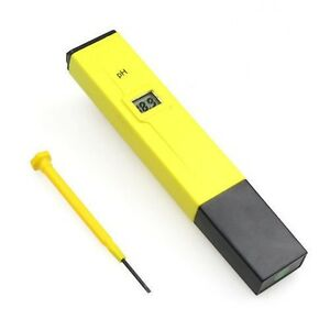 Brand New Portable PH Meter Tester Water for Aquarium Pool
