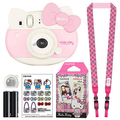 Fuji Instax Mini Hello Kitty Fujifilm Instant Film Camera Pink