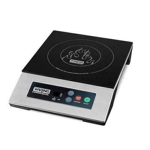 Waring WIH200 Commercial Countertop Induction Range Cooktop