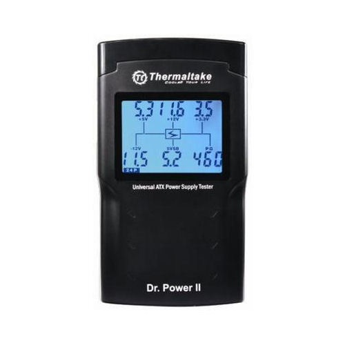 Thermaltake Dr. Power II  AC0015 LCD Display Power Supply Tester