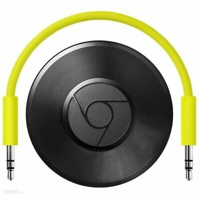 Google Chromecast Audio Media Streamer - Black (Royal Mail 1st Class Postage)