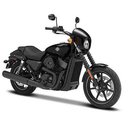 Maisto 2015 Harley Davidson Street 750 Motorcycle 1:12 32333 Black