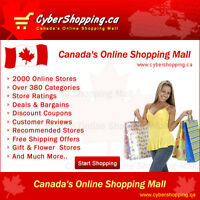 Online Store LISTING - Canada's Online Shopping Directory $15.95