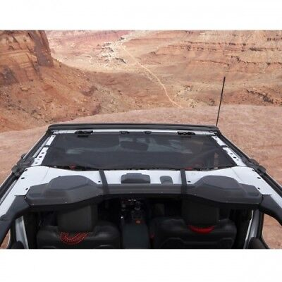 Jeep Wrangler JL 4-türer Eclipse Bikini Top Mesh Schwarz 18