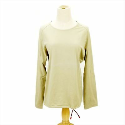 Gucci Long T-shirt Beige Woman Authentic Used F1048