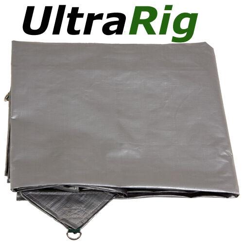 OZtrail TARP HEAVY DUTY SILVER UltraRig 24 x 18 FT NEW