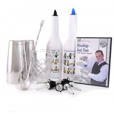 Mixology and Flair Bartending Kit with DVD (with Dean Serneels) Flair Bartending-kit