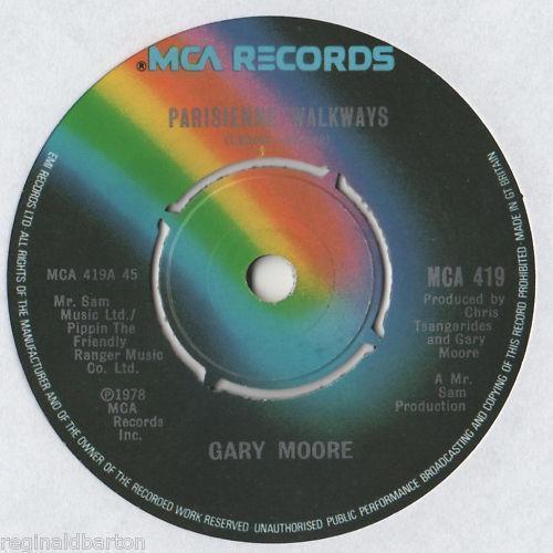 Gary Moore Parisienne Walkways Ebay