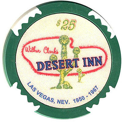 $25 Desert Inn CASINO Fantasy Chip Las Vegas Nevada FREE Shipping *