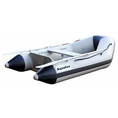 Aquafax 2.3m Inflatable Boat Dinghy Tender with Airdeck & Keel. NEW